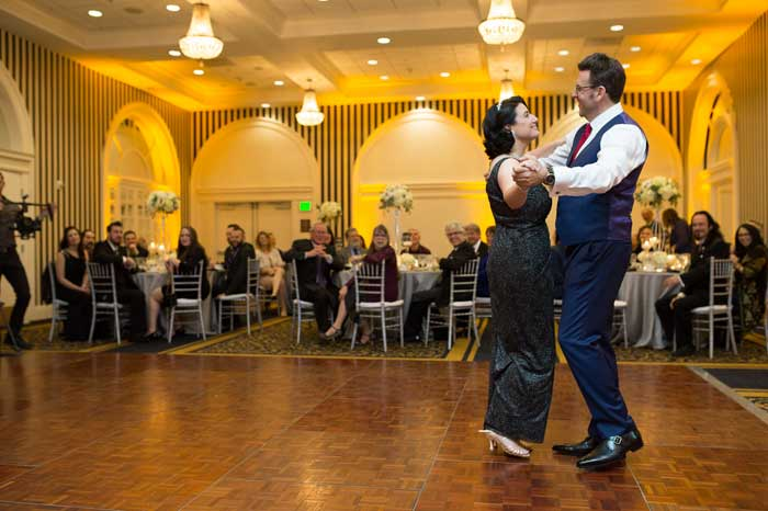 Todd & Andrea's first dance waltz