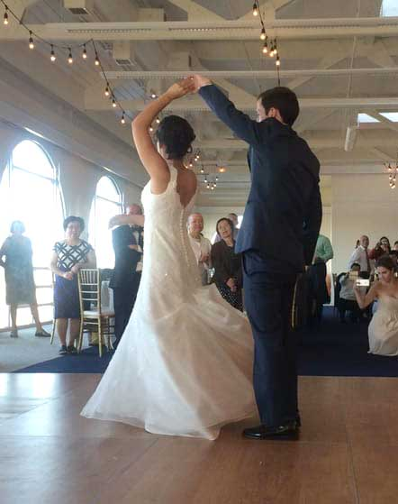 Rosemary & Rory's first dance