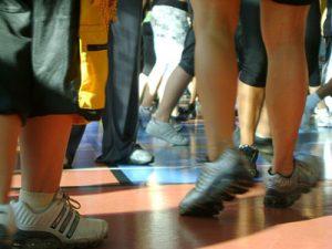 Feet mark movement to improve memory
