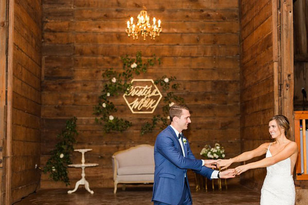 Cristina & Max's beautiful first dance