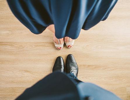 Ballroom Dancers' Feet