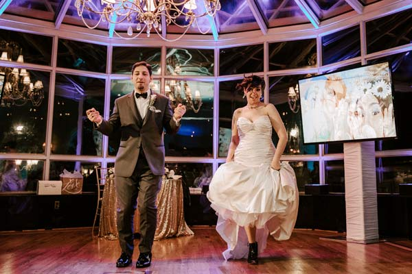 A fun, Footloose ending to their first dance