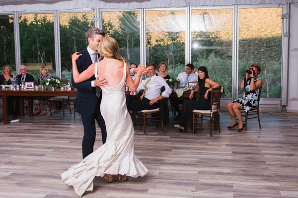Wedding dance routine with Foxtrot, Swing & Salsa!