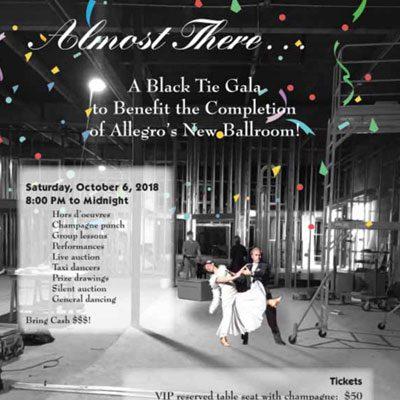 Allegro Ballroom Fundraiser