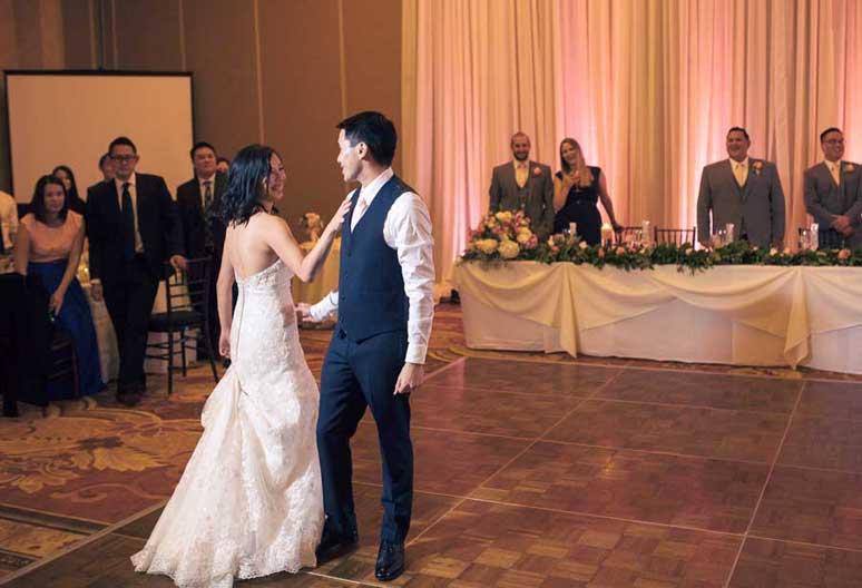 Eileen & Gary's choreographed dance