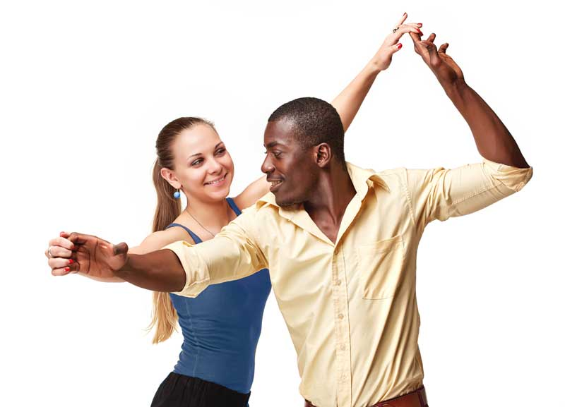 Private Dance Lessons: Couple Dancing