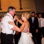 Tori & her dad enjoy their dance