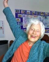 Susan smiling