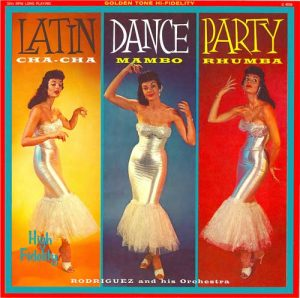 Vintage latin dance album
