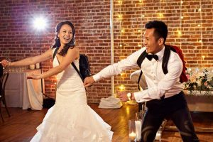 Wedding couple dances a mashup