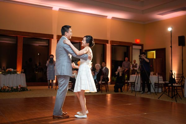 A sweet first dance to the song Perfect