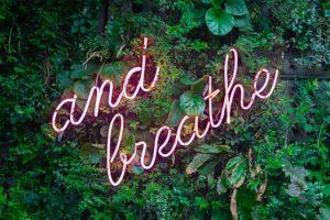 Breathe Sign