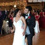 Salsa wedding dance