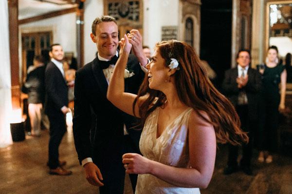 Tori and Braudy's fun first dance